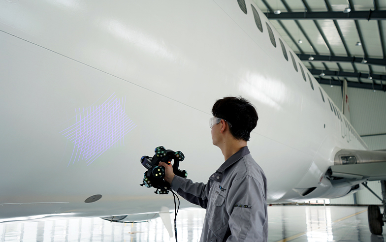Escáner TrackScan 3D