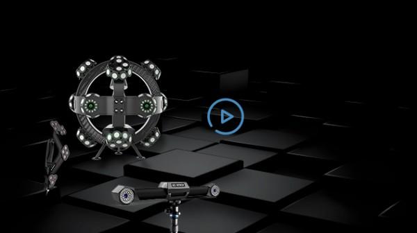 TrackScan-P42 3Dシステム