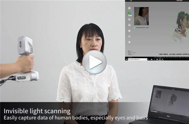 iReal 2S Color 3D Scanner