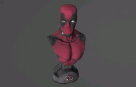 Deadpool 3D Model
