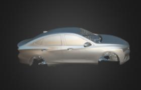 Clay Car Model