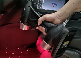Product Design of Automobile Interiors by 3D Scanner