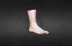 Color Scanning of Foot