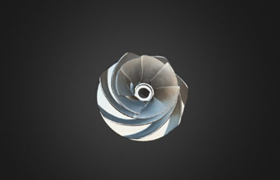 Impeller with Helix Structure