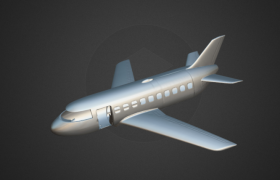Plane Model for 3D Printing