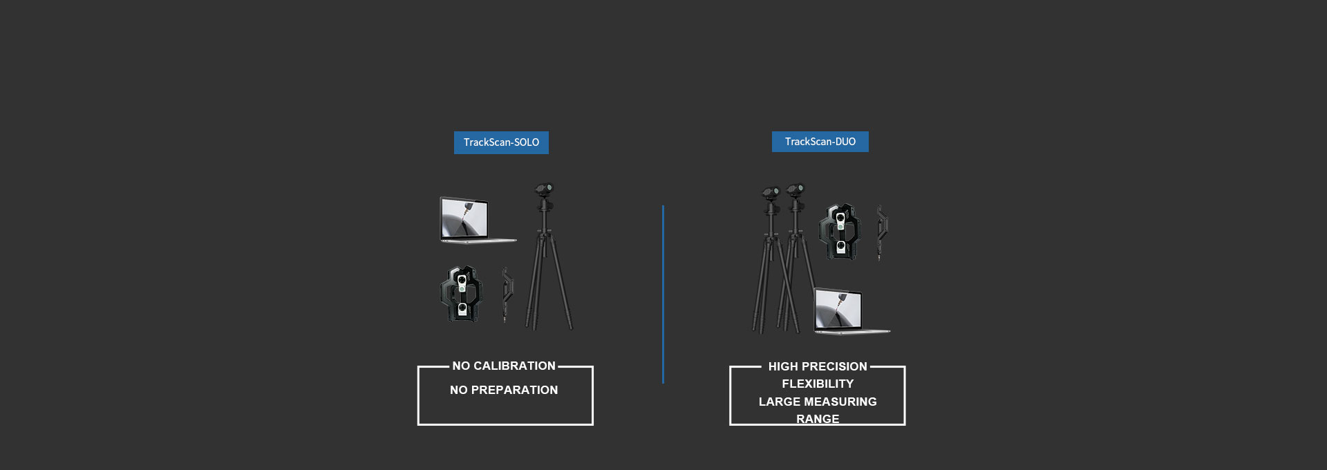 TrackScan-DUO 3D System 1