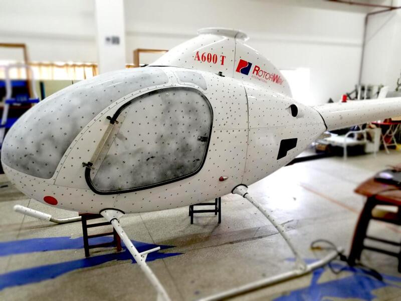 Helicopter 3D laser scanning