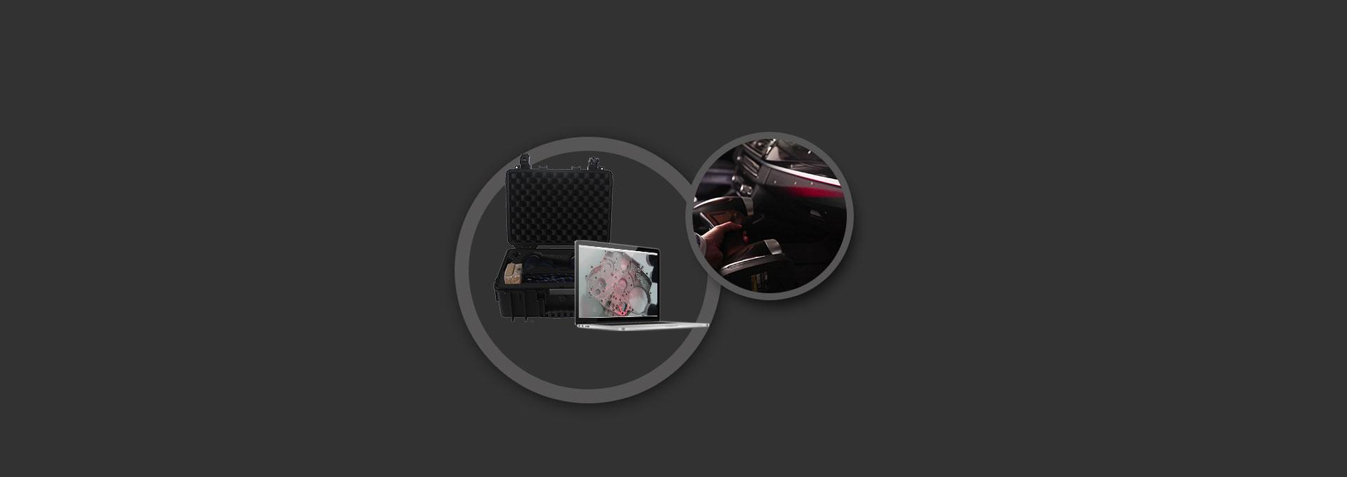 HSCAN331 Handheld 3D Scanner 5