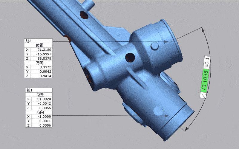 3D scan stl detailed data