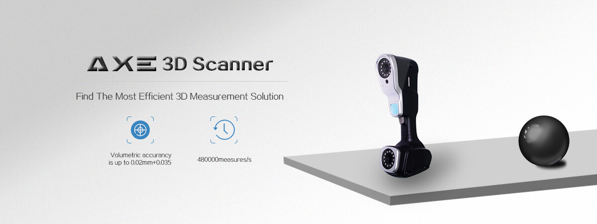 AXE 3D global laser scanner