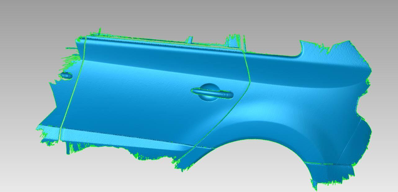Stl 3D data of standard car