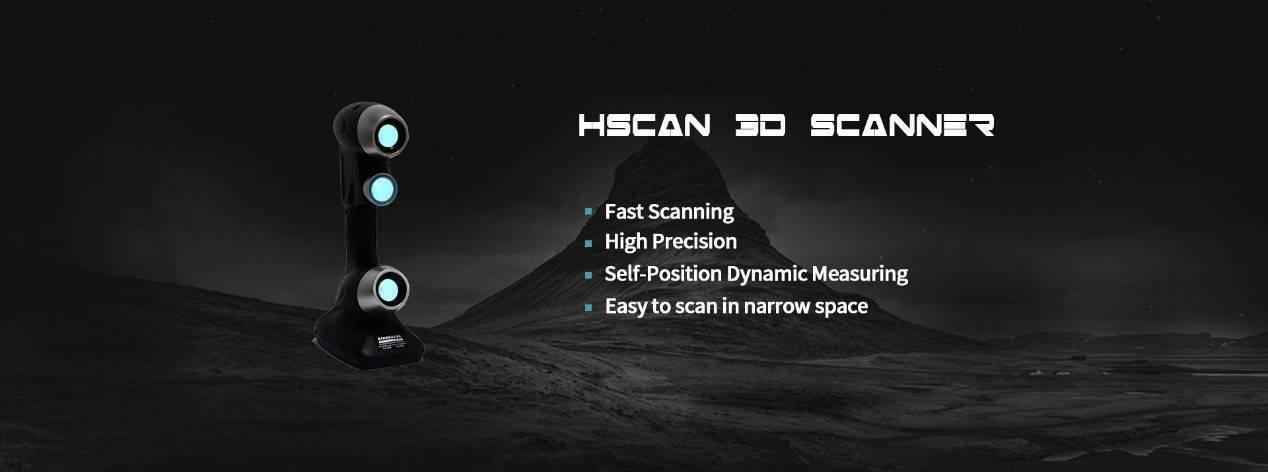 handheld 3D laser scanner
