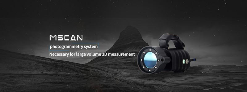 global photogrammetry system for large volume