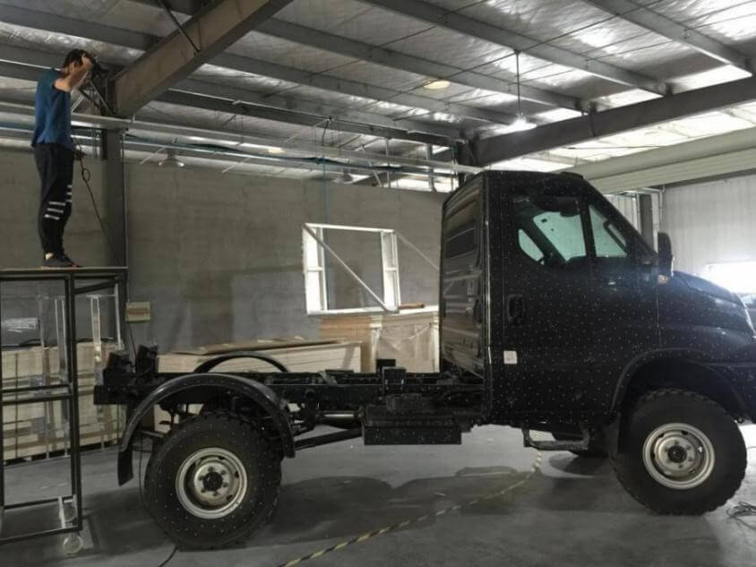 Truck scan by photogrammetry system
