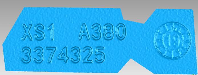 Partial 3D stl data