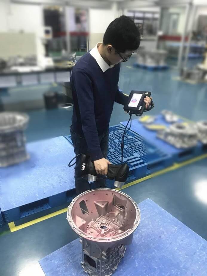 casting 3D scanning