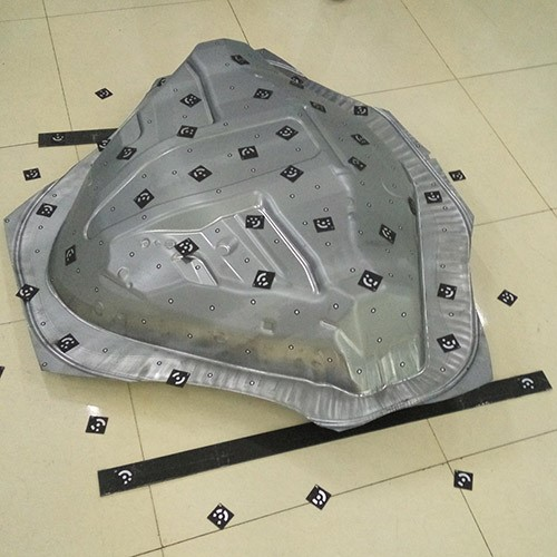 wheel cover 3d scanning