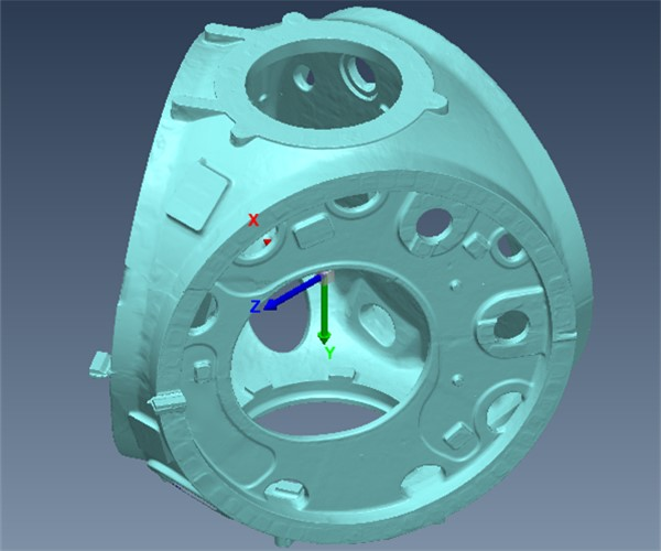 wind turbine hub 3D stl data