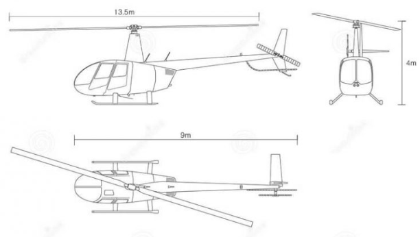Helicopter 3D inspection