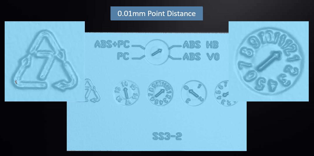 3d scan resolution