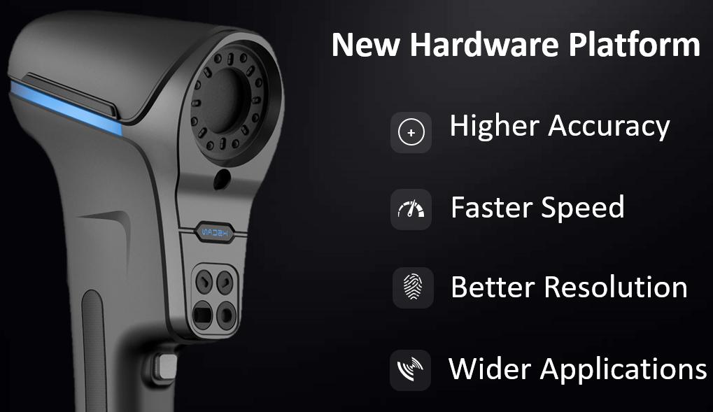 New handware3d scanner