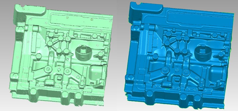 How to Quickly Perform 3D Inspection on Complex Mould? 4