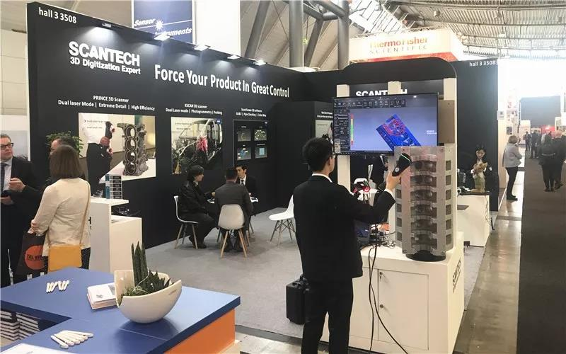 Share Innovative 3D Measurement at Control 2019 8