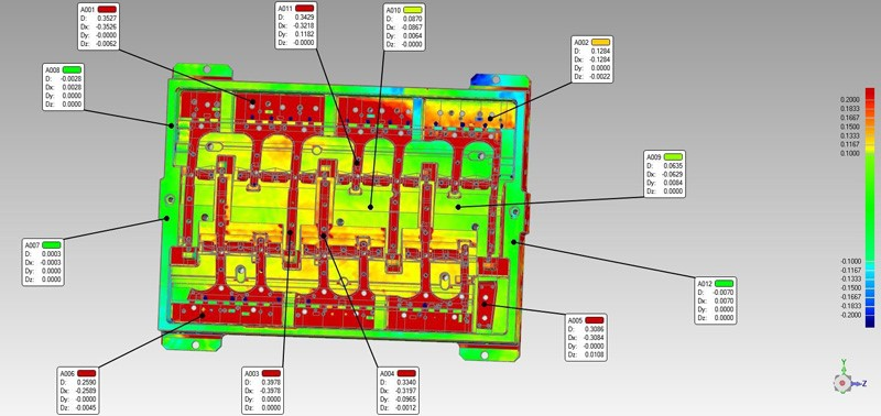 How to Quickly Perform 3D Inspection on Complex Mould? 10