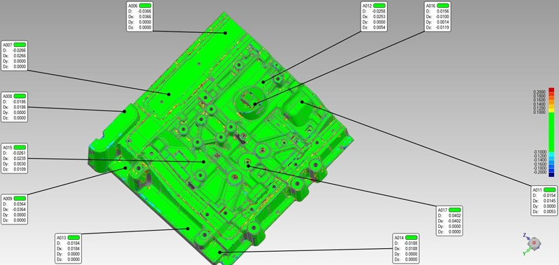 How to Quickly Perform 3D Inspection on Complex Mould? 5