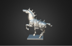Horse Inspection by PRINCE 3D Scanner