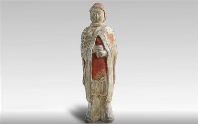pottery figurine