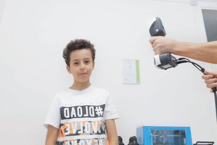 iReal 2E Color 3D Scanner 3