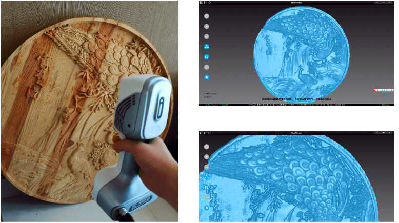 iReal color 3d scanner