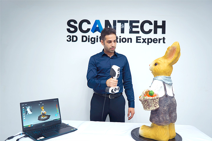 iReal 2E Color 3D Scanner 2