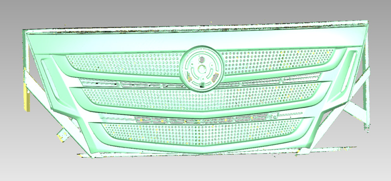 How 3D Scanning Optimizes the Design Process of Truck Grille 3