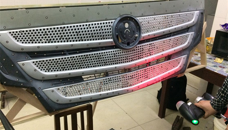 How 3D Scanning Optimizes the Design Process of Truck Grille 2