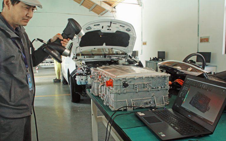 3D Scanning + 5G + AR/VR Shape Digital Education in New Energy Vehicles Field 2