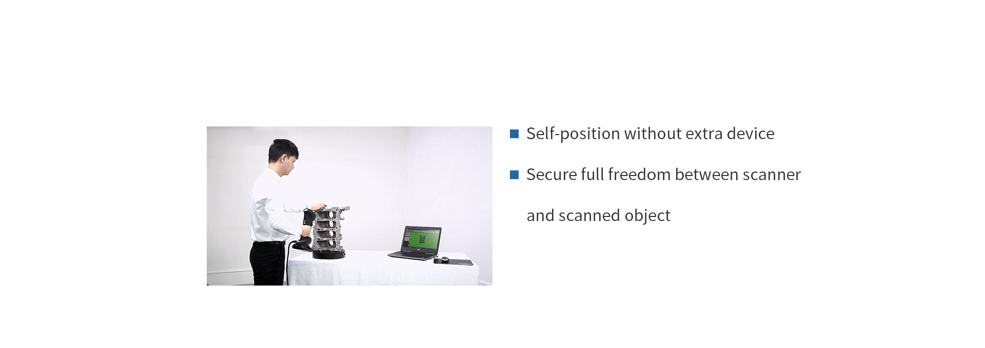 HSCAN331 Handheld 3D Scanner 2