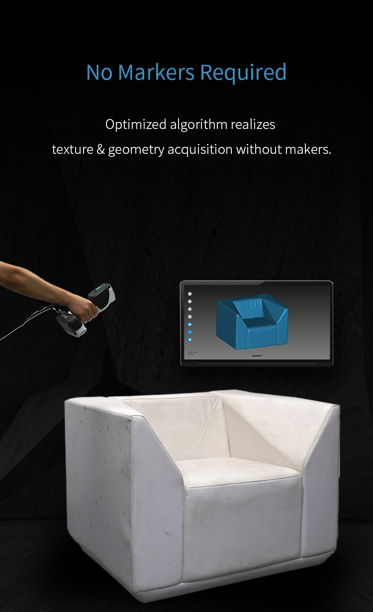 New Launched iReal 2E Color 3D Scanner - Expanded Vision for Effortless Smooth 7