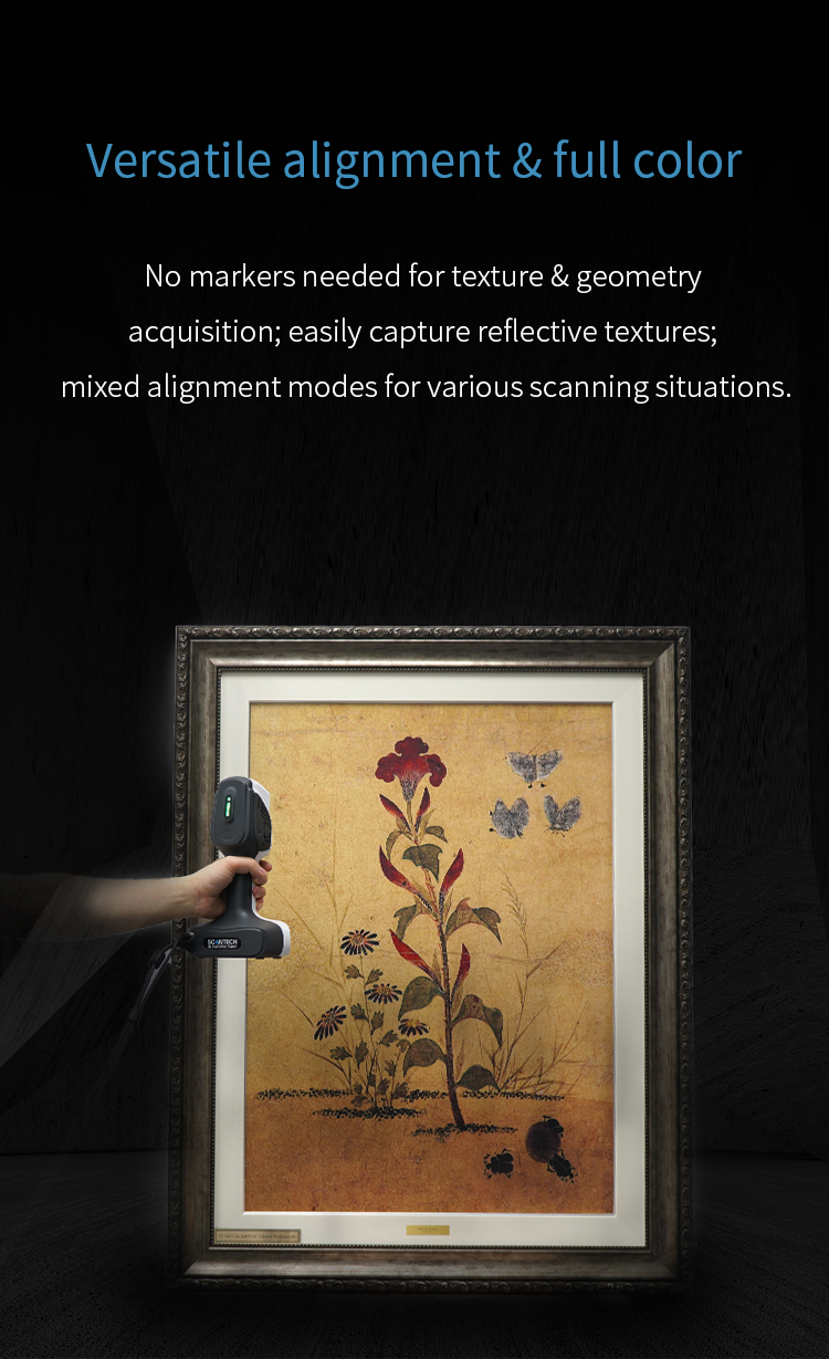 New Launched iReal 2E Color 3D Scanner - Expanded Vision for Effortless Smooth 5