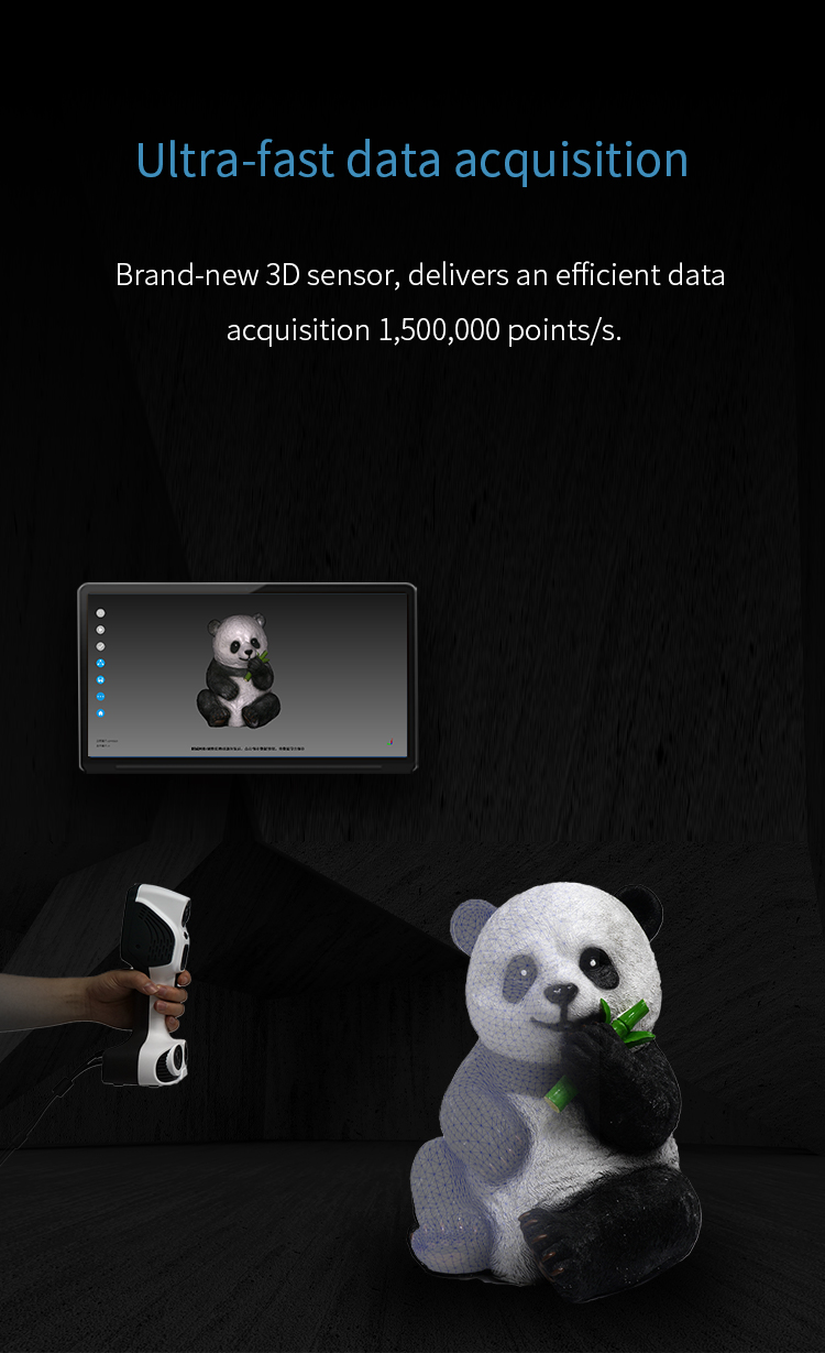 New Launched iReal 2E Color 3D Scanner - Expanded Vision for Effortless Smooth 4
