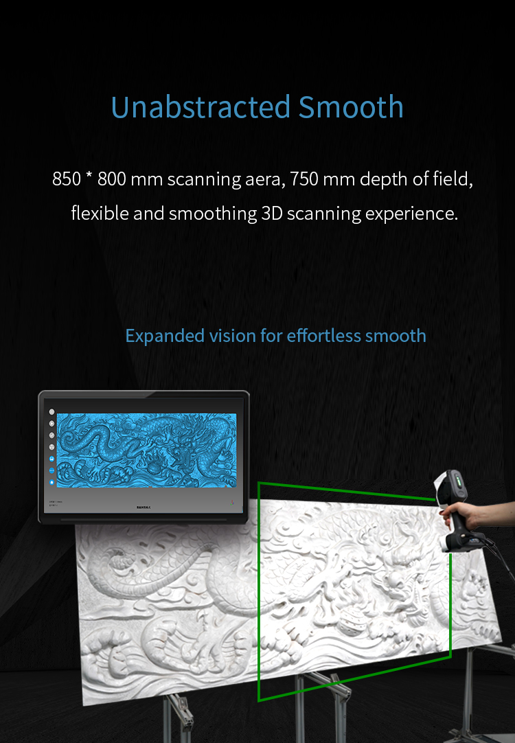 New Launched iReal 2E Color 3D Scanner - Expanded Vision for Effortless Smooth 3