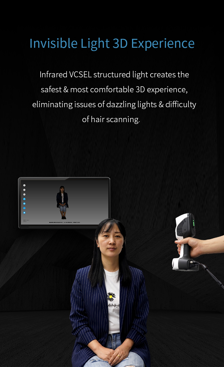 New Launched iReal 2E Color 3D Scanner - Expanded Vision for Effortless Smooth 6