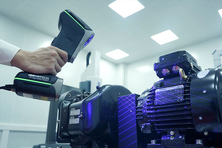 Composite 3D Laser Scanner