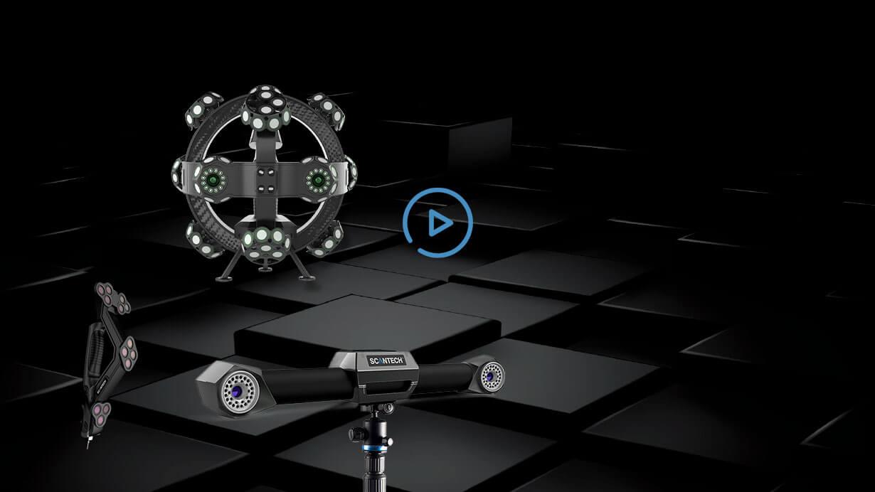 TrackScan-P Series 3D System 1