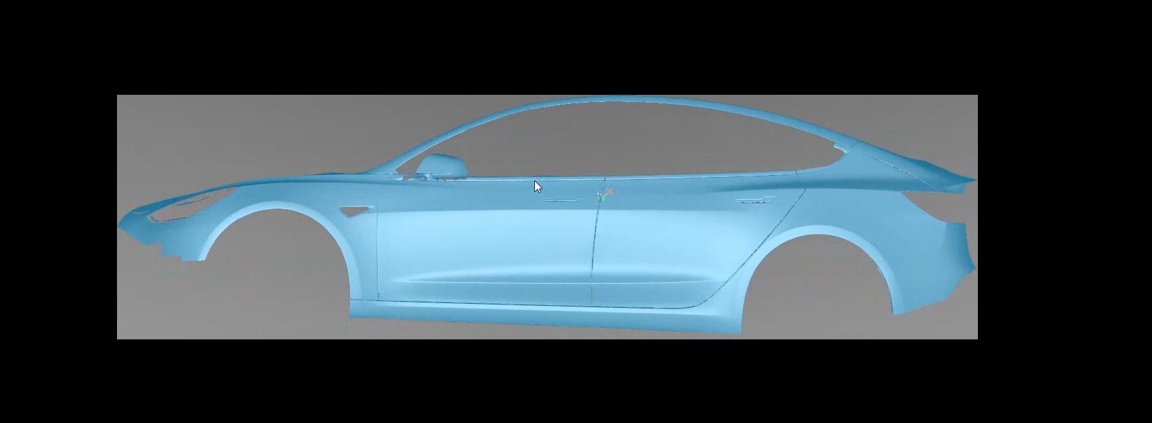 Tesla 3D Model (2)
