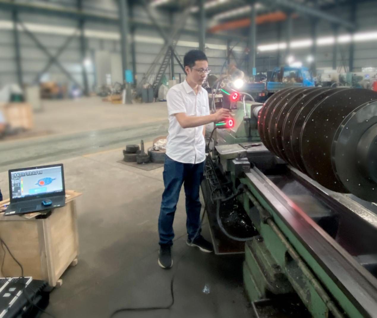 Persistent Improvement in 3D Inspection of Large-sized Object 1