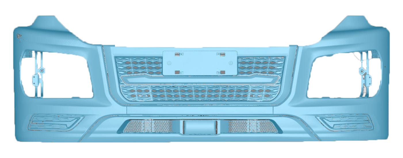 bumper 3D scanning data