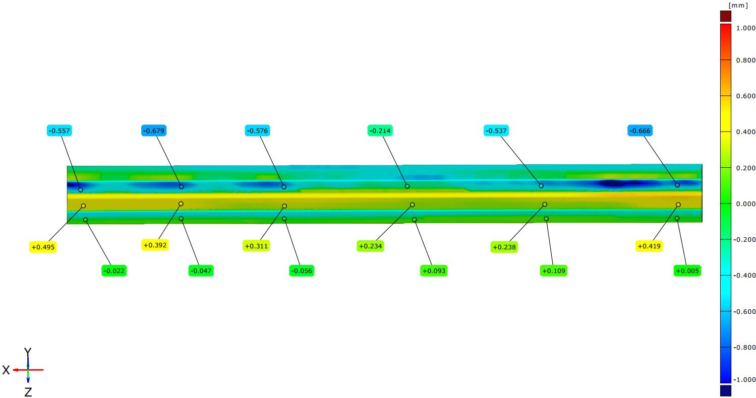 SCANTECH 3D Digitization Solution for Irregular Curtain Wall 6