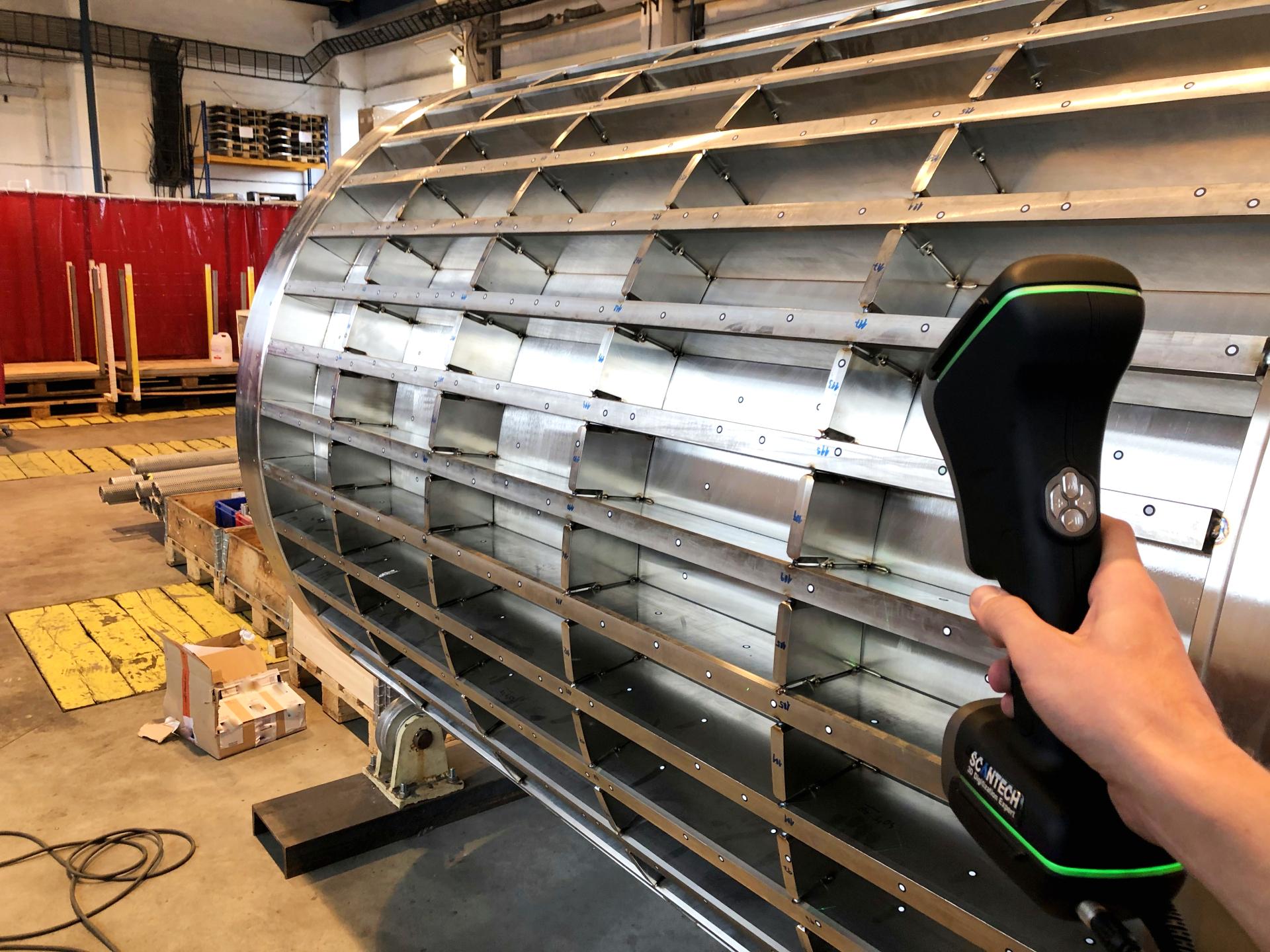large object KSCAN 3D scanner